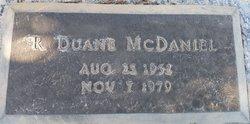 R Duane McDaniel
