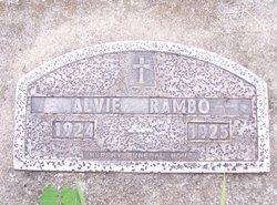 Alvie Rambo