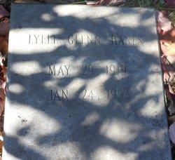 Lyell <I>Glenn</I> Hanes