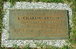 """Leland Charles """"Charlie"""" Bryant"""
