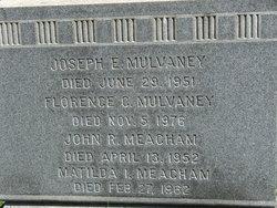 Joseph E Mulvaney