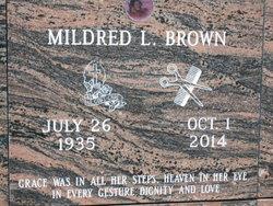 Mildred L Brown