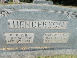 Benjamin Jessie Henderson
