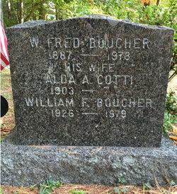 """William Frederick """"Fred"""" Boucher"""