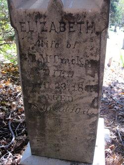 Elizabeth <I>High</I> McCracken