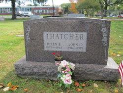 Helen B Thatcher