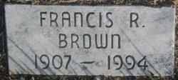 Francis R Brown