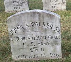 John A Walker, Sr