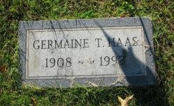 Germaine <I>Touzin</I> Haas