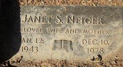Janet S. Neiger