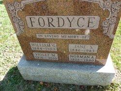Violet M. Fordyce
