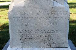 Rev Charles A. McFadden