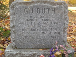 Iris Mary <I>Thompson</I> Gilruth