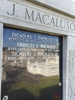 Nicholas J. Macaluso, Jr