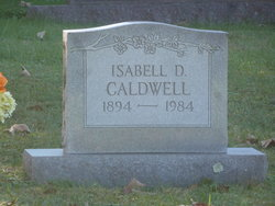 Isabell <I>Dykes</I> Caldwell