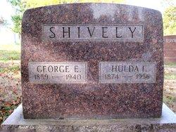 Hulda Ida <I>Willer</I> Shively