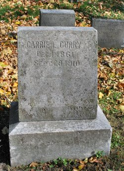 Carrie L. <I>Franklin</I> Curry