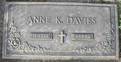 Anne Kathleen <I>Meyer</I> Davies