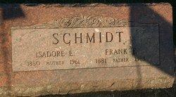 Isadore E <I>Sowles</I> Schmidt