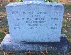 Ralene W Chapin