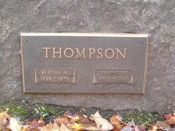 Bertha H Thompson