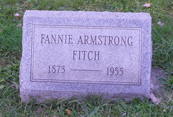 Fannie <I>Armstrong</I> Fitch