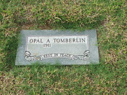 Opal Afton <I>McCrary</I> Tomberlin
