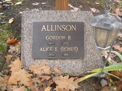 Alice E <I>Schut</I> Allinson