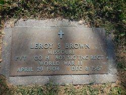 Leroy S. Brown