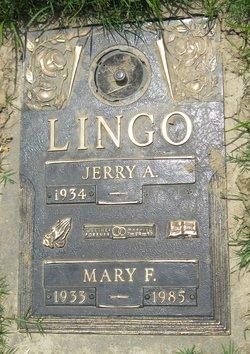 Mary F Lingo
