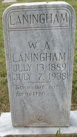 W A Laningham