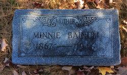 Minnie Bainum