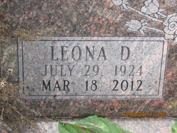 Leona <I>Dellenbaugh</I> May