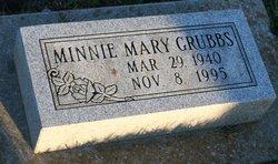 Minnie Mary Grubbs