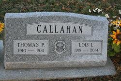Thomas P Callahan