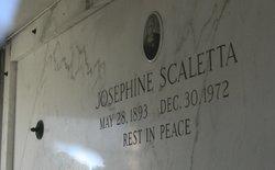 """Josephine """"Josie"""" <I>Comparetti</I> Scaletta"""