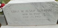 Edna M <I>Alsup</I> Stidham