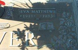 Eva <I>Matthews</I> Oliver