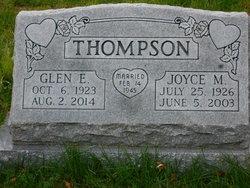 Glen E Thompson