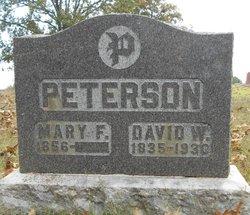 Mary F. <I>Hale</I> Peterson
