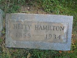 """Hester """"Hetty"""" Hamilton"""