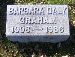 Barbara <I>Daly</I> Graham