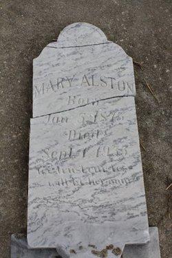 Mary <I>Taylor</I> Alston