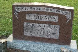 Ethel H. <I>Penberthy</I> Thomson