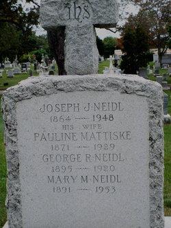 Pauline <I>Mattiske</I> Neidl