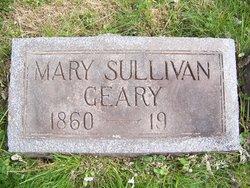Mary <I>Sullivan</I> Geary