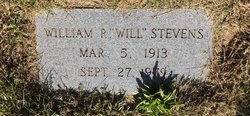 "William R. ""Will"" Stevens"