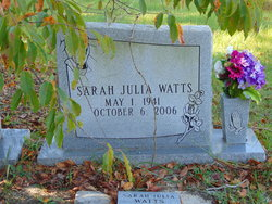 Sarah Julia Watts