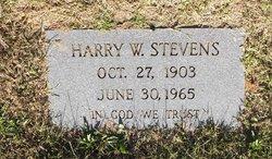 Harry W. Stevens