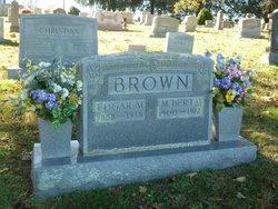 M. Berta <I>Christian</I> Brown